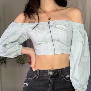 Urban Outfitters Bdg denim top
